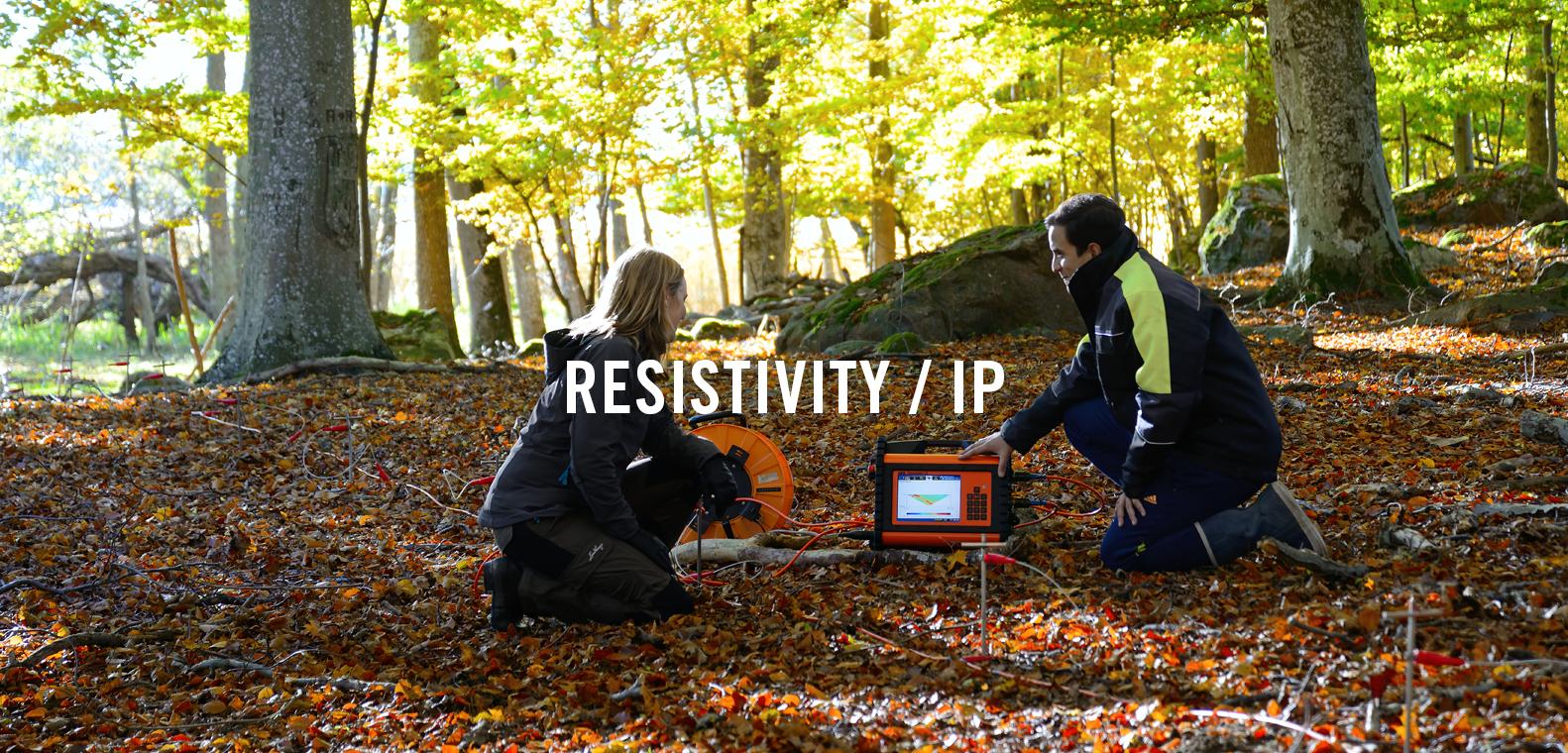 Resistivity IP rental
